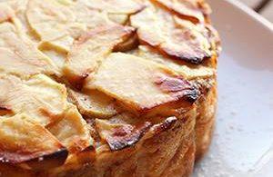 Gâteau aux pommes très fondant
